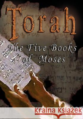 Torah: The Five Books of Moses - The Parallel Bible: Hebrew / English (Hebrew Edition) J. P. S 9789562914376