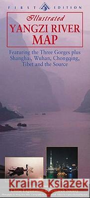 YANGZI RIVER MAP Richard Hayman Mark Stroud 9789622177154