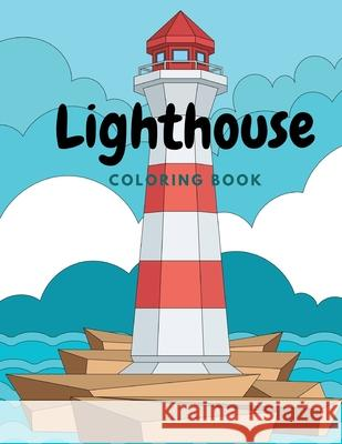 Lighthouse Coloring Book Lurro 9798721843075
