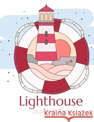 Lighthouse Coloring Book Lurro 9798721854163