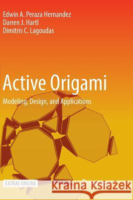 Active Origami: Modeling, Design, and Applications
