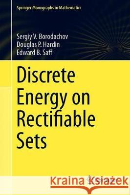 Discrete Energy on Rectifiable Sets