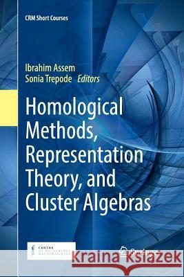Homological Methods, Representation Theory, and Cluster Algebras