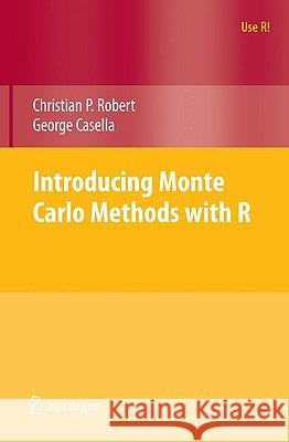 Introducing Monte Carlo Methods with R