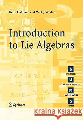 Introduction to Lie Algebras: