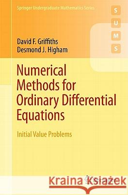 Numerical Methods for Ordinary Differential Equations: Initial Value Problems