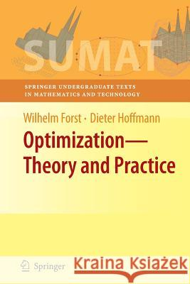 Optimization--Theory and Practice