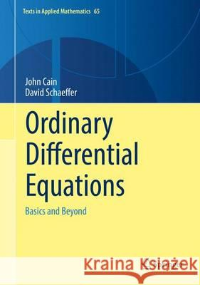 Ordinary Differential Equations: Basics and Beyond