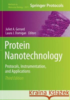 Protein Nanotechnology: Protocols, Instrumentation, and Applications