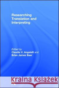 Researching Translation and Interpreting