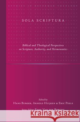 Sola Scriptura: Biblical and Theological Perspectives on Scripture, Authority, and Hermeneutics