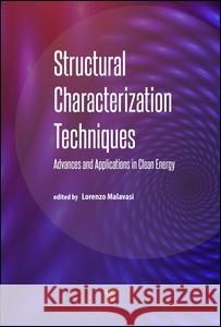 Structural Characterization Techniques: Advances and Applications in Clean Energy