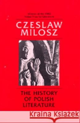 The History of Polish Literature, Updated Edition