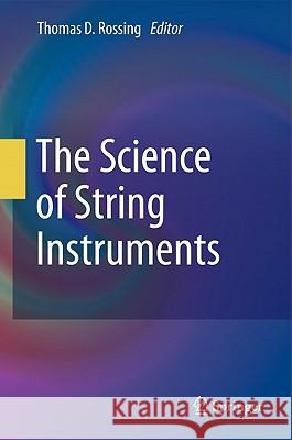 The Science of String Instruments