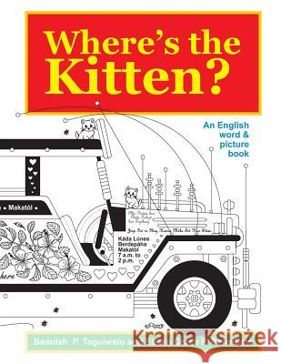 Where's the Kitten: An English Word & Picture Book