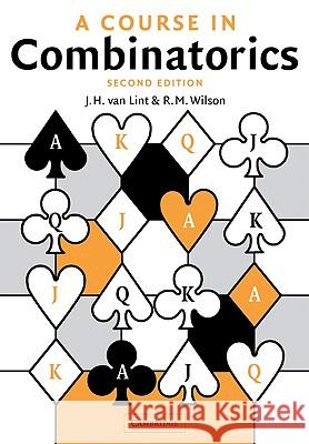 A Course in Combinatorics J. H. Va R. M. Wilson 9780521006019 Cambridge University Press - książka