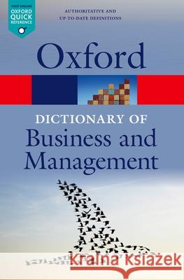 A Dictionary of Business and Management Jonathan Law 9780199684984 Oxford University Press, USA - książka