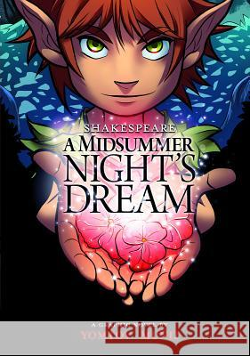 A Midsummer Night's Dream Nelson Yomtov William Shakespeare Aburtov 9781434234490 Stone Arch Books - książka