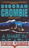 A Share in Death Deborah Crombie 9780060534387 Avon Books