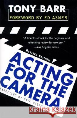 Acting for the Camera: Revised Edition Tony Barr Edward Asner 9780060928193 HarperCollins Publishers - książka