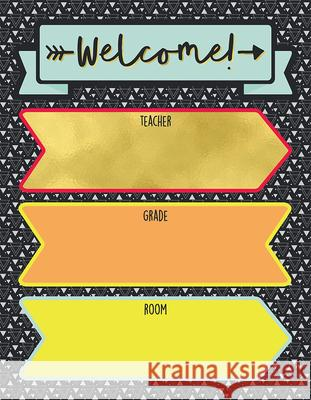 Aim High Welcome Chart Carson-Dellosa Publishing 9781483837789 Carson Dellosa Publishing Company - książka