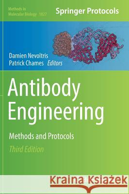 Antibody Engineering : Methods and Protocols Damien Nevoltris Patrick Chames 9781493986477 Humana Press - książka