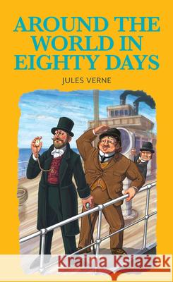 Around the World in Eighty Days Jules Verne Stephen Lillie Tony Evans 9781912464036 Baker Street Press - książka