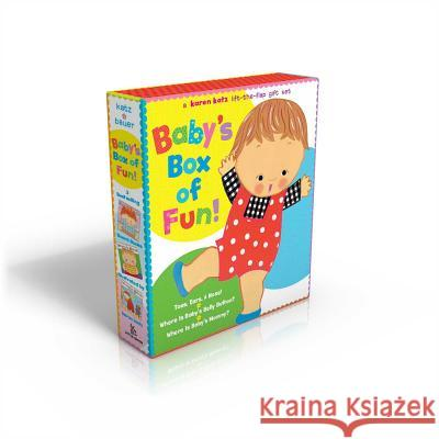 Baby's Box of Fun: A Karen Katz Lift-The-Flap Gift Set: Toes, Ears, & Nose!/Where Is Baby's Belly Button?/Where Is Baby's Mommy? Karen Katz Marion Dane Bauer Karen Katz 9780689038624 Little Simon - książka