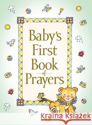 Baby's First Book of Prayers Melody Carlson 9780310702870 Zonderkidz - książka