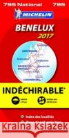 Benelux 2017 - High Resistance National Map 795  0 9782067219403 Michelin National Maps
