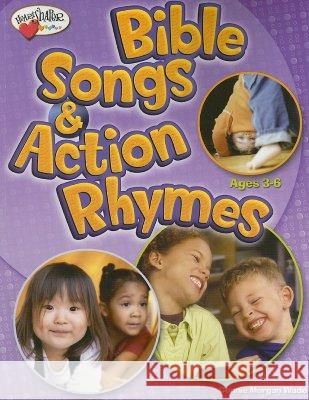 Bible Songs & Action Rhymes: Ages 3-K Connie Morgan Wade 9780784717813 Standard Publishing Company - książka