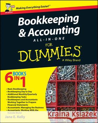 Bookkeeping and Accounting All-In-One for Dummies - UK Kelly, J 9781119026532 John Wiley & Sons - książka