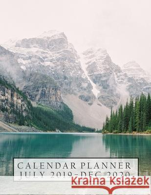 Calendar Planner July 2019 - Dec 2020 Jane Calendar 9781086538526 Independently Published - książka