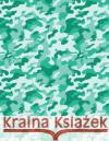 Camo Notebook: Mint Green Camouflage, 144 Pages Ij Publishin 9781544645629 Createspace Independent Publishing Platform