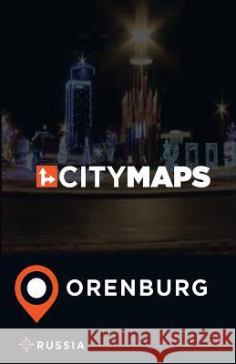 City Maps Orenburg Russia James McFee 9781545103005 Createspace Independent Publishing Platform - książka
