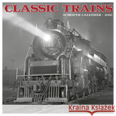 Classic Trains 2020 Wall Calendar Willow Creek Press 9781549205958 Willow Creek Press - książka