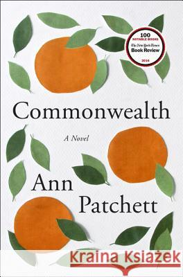 Commonwealth Ann Patchett 9780062491794 Harper - książka
