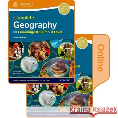Complete Geography for Cambridge IGCSE & O  Level: Print & Online Student Book Pack David Kelly Muriel Fretwell  9780198427889 Oxford University Press - książka