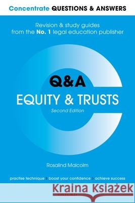 Concentrate Questions and Answers Equity and Trusts: Law Q&A Revision and Study Guide Rosalind Malcolm 9780198817888 Oxford University Press, USA - książka