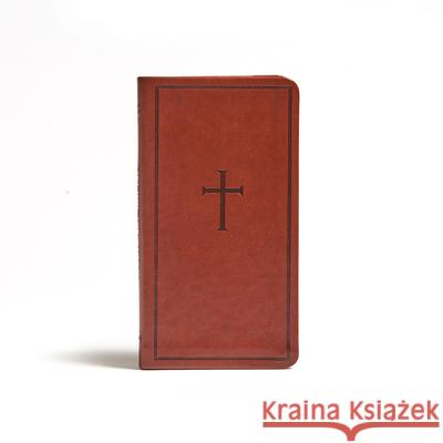 CSB Single-Column Pocket New Testament, Brown Leathertouch Csb Bibles by Holman 9781430070566 Holman Bibles - książka