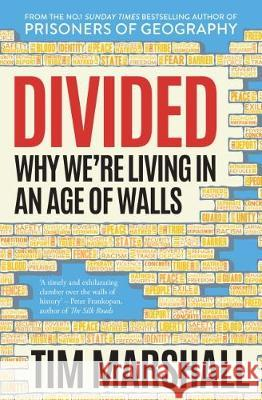 Divided Why We're Living in an Age of Walls Marshall, Tim 9781783963744  - książka