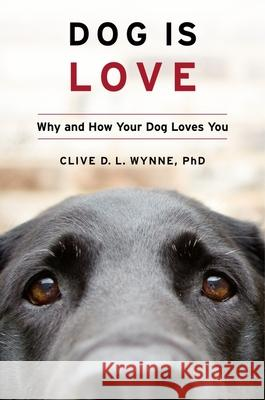 Dog Is Love: Why and How Your Dog Loves You Clive D. L. Wynne 9781328543967 Houghton Mifflin - książka