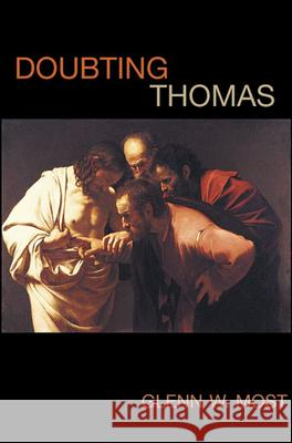 Doubting Thomas Glenn W. Most 9780674025615 Harvard University Press - książka