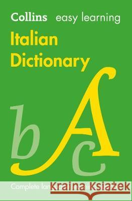 Easy Learning Italian Dictionary  9780008300272 HarperCollins Publishers UK - książka