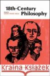 Eighteenth-Century Philosophy Lewis White Beck Lewis White Beck 9780029021002 Free Press