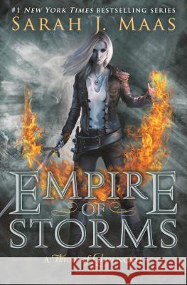Empire of Storms Sarah J. Maas 9781619636071 Bloomsbury U.S.A. Children's Books - książka