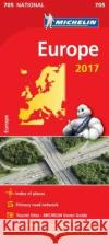 Europe 2017 National Map 705  0 9782067218314 Michelin National Maps