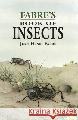Fabre's Book of Insects Jean-Henri Fabre Stawell 9780486401522 Dover Publications - książka