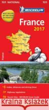 France 2017 National Map 721  0 9782067218611 Michelin National Maps