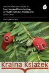 Functions and Biotechnology of Plant Secondary Metabolites Michael Wink   9781405185288